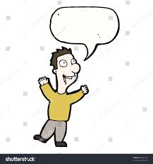 Image result for man speaking cartoon