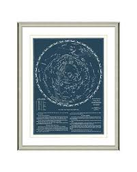 Complete Star Chart Amazon Com Vintage Star Chart Constellations And The
