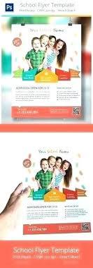 Samples Of Daycare Flyers Kindergarten Flyer Template Daycare Brochure Child Care