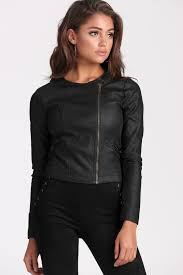 kimmy faux leather jacket black from black swallow 89 95 free express