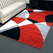 red grey black area rug red black and grey area rugs design abstract wave design red
