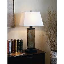 slate table lamp laurel creek inch natural slate table lamp slate table lamps uk