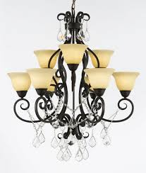 c188 b12 2648 hamilton home oil rubbed bronze finished multi tier chandelier chandeliers lighting with crystals and frosted ivory shades good for dining