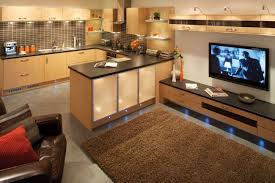 Open Kitchen Dining Living Room Open Plan Kitchen Diners Built In Seating And Living Rooms Home