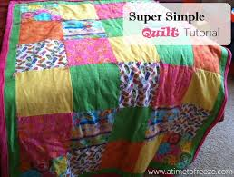 Super Simple Quilt Tutorial &  Adamdwight.com