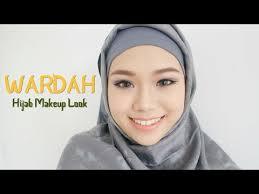 wardah one brand tutorial review hijab makeup look eng sub molita lin