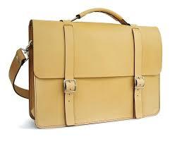 natural messenger bag handmade leather bags usa dyed edge