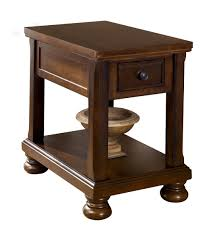 cherry end tables. Furniture:Low Side Table Round Decorator Dark Cherry End Tables 14 Inch