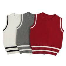 Baby Boys Girls Sweaters Cotton Knitted Vest <b>2018 New Arrival</b> ...