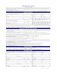 free personal employment history american eagle job application free resumes tips