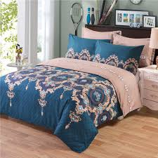 print comforter bedding sets quilt bed pillow duvet cover set single double king size