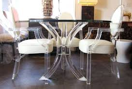 lucite dining chairs home and interior exquisite dining chairs on gorgeous ghost marbles and from lucite