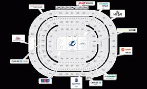 Tampa Bay Lightning Home Schedule 2019 20 Seating Chart