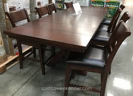 dining table set 9 piece. hillsdale furniture 9 piece dining set \u2013 for those looking a bit more height table