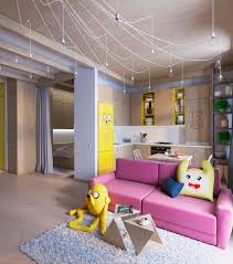 Colorful Interior Design colorful apartment interior design with charming feature roohome 3170 by uwakikaiketsu.us