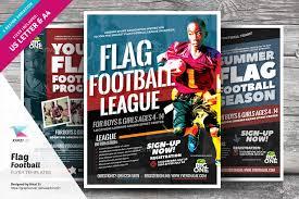 football flyer templates flag football flyer templates kinzi21 graphicriver football flyer