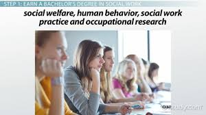 Become A Social Worker How Do I Become A Social Worker
