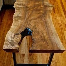 Image Dining Walnut Live Edge Coffee Table Custommade Live Edge Wood Furniture Custommadecom