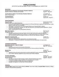 undergrad resume