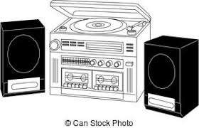 sound system clipart. pin musical clipart sound system #2 d