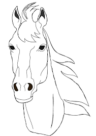horse face coloring page. Interesting Horse Horse Coloring Pages  Free Face Page To Horse Face Coloring Page Pinterest