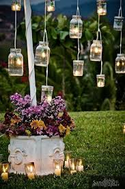 garden decor ideas.  Decor 25 Easy DIY Mason Jar Lanterns Throughout Garden Decor Ideas E