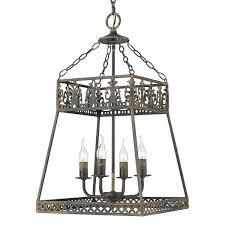golden lighting tudor 4 light antique