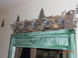 Driftwood Vanity Light Bathroom Light Fixture Took Driftwood From Lake Superior