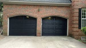 Brilliant Black Garage Doors Images 34 For Your With
