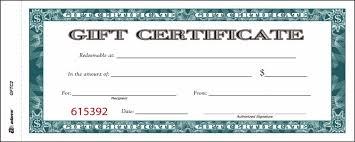 Amazon Com Adams Gift Certificate Book Carbonless Single Paper