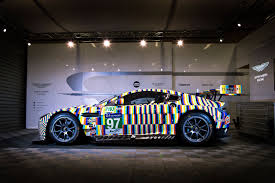 aston martin art car 2015