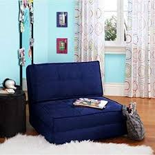 Navy blue furniture living room Sectional Image Unavailable Theblbrcom Amazoncom Navy Blue Flip Out Folding Sleeper Chair Pull Down Sofa