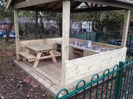 Outdoor Kitchen Equipment Uk Wooden Equipment Creative Playground Lancashire