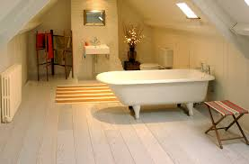 Wood floors for bathrooms