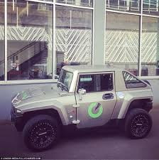 electric shock hummer s revolutionary new electric car has gone on in the uk on