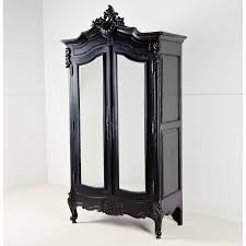 La Rochelle Bedroom Furniture French Wardrobes A La Rochelle Black Antique French Wardrobe