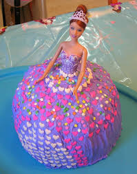 Best Barbie Doll Cake Birthday Images Easy Childrens Cakes