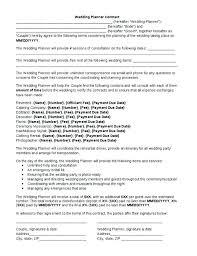 Event Coordinator Contract Template | Nfcnbarroom.com