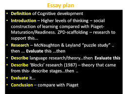 theory of cognitive development ppt video online  essay plan definition of cognitive development