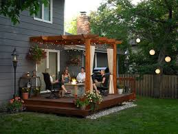 patio ideas for small yards. Unique Backyard Deck And Patio Ideas Fetching Pergola With For Small Yards A
