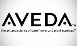 aveda makeup brand logo design