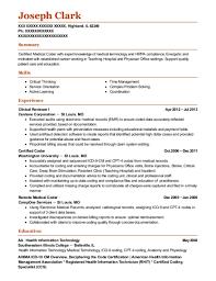Best Remote Medical Coder Resumes | Resumehelp