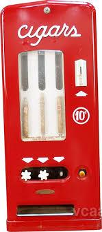 Cigar Vending Machine For Sale Gorgeous 48 Cent Vintage Metal Cigars 48Column Vending Machine