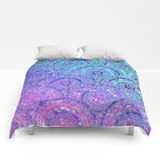 aqua blue purple and pink sparkling