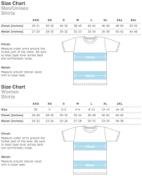 Society6 T Shirt Size Chart Size Charts The Collective Good