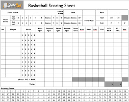 Baseball Score Book Pages Printable Basketball Scorebook Pages Get Home Inteiror House