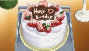 Happy Birthday Cake Sticker Gif By The Gif Smith At Sannahparker