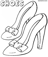 coloring pages of high heels shoes printable 11r free
