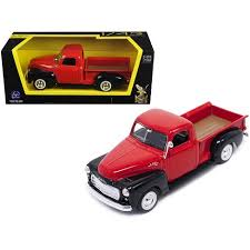 1950 GMC Pickup Truck Red/Black 1/43 Diecast Model Car By Road ...