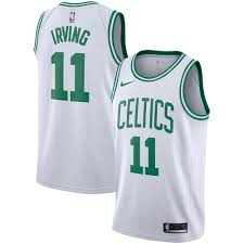 Kyrie Irving Boston Celtics Nike Replica Swingman Jersey - Association  Edition White